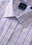 Mens Regular Fit Stretch Collar Button Down Shirt