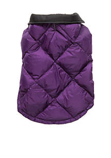 Quilted Packable Dog Coats