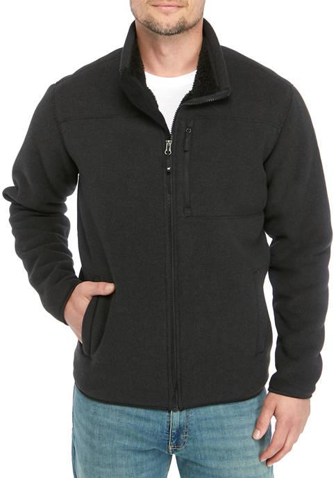 32 Degrees Heat™ Mens Fleece Jacket With Sherpa