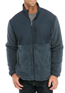 32 Degrees Heat Men's Double Sherpa Jacket