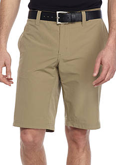 WEATHERPROOF®: 32 Degrees Stretch Performance Flat Front Shorts