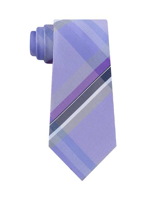 Madison Field Plaid Tie