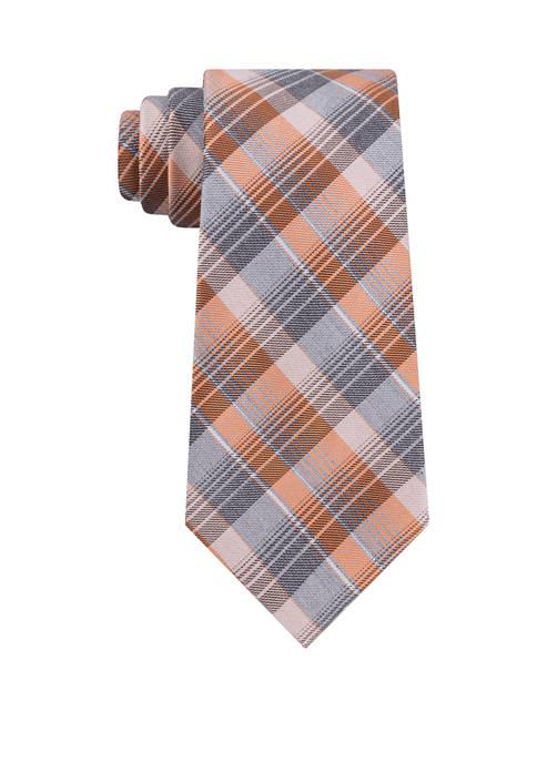 Degrade Plaid Tie