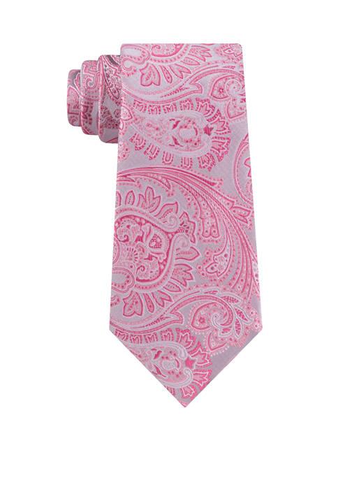 Madison Paisley Print Tie