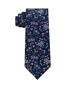Madison Floral Print Tie