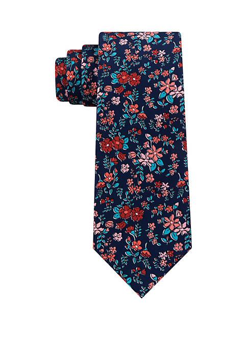 Madison Floral Print Tie