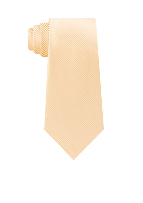 Madison Bias Stripe Solid Neck Tie