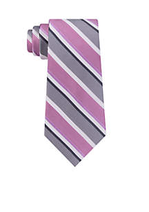 Textured Bar Stripe Neck Tie