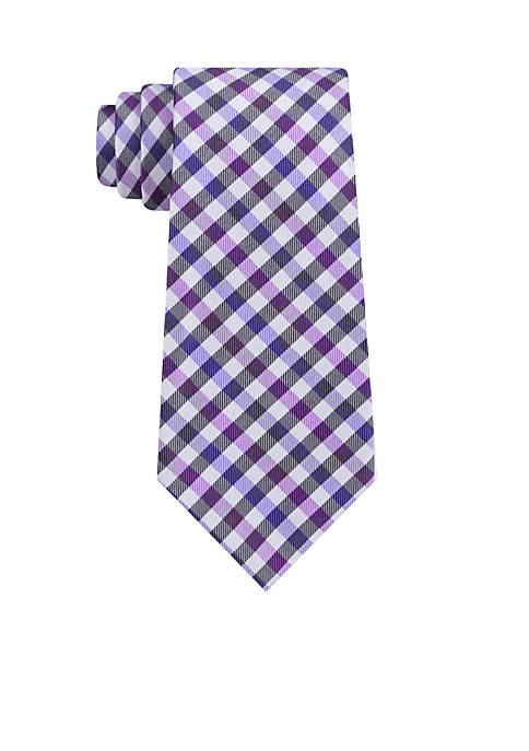 Madison Twill Gingham Tie