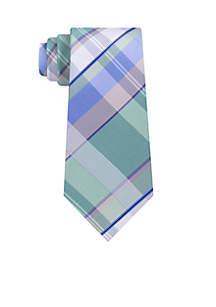 Fraternity Plaid Tie