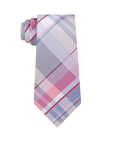 Madison Fraternity Plaid Tie