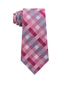 Checker Geometric Necktie
