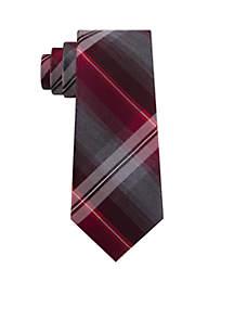 Ombre Plaid Necktie