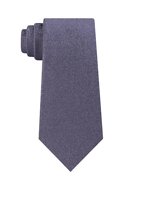 Madison Iridescent Solid Tie