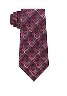 Fine Line Geometric Neck Tie