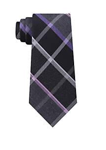 High Rise Windowpane Tie