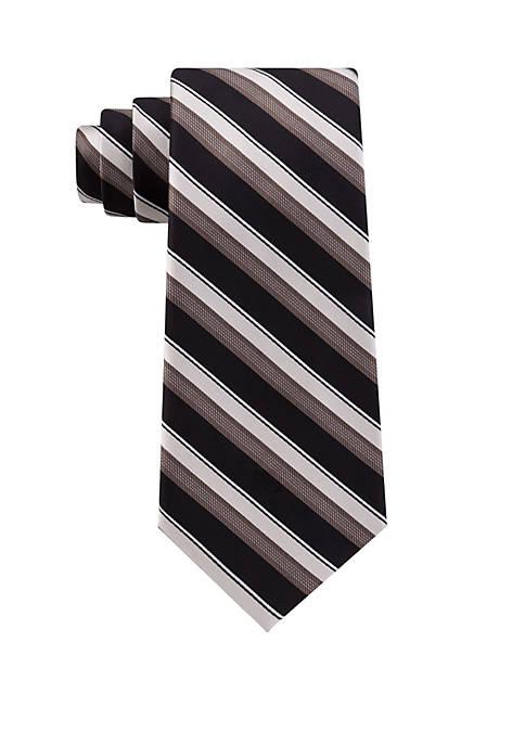 Madison Texture Bar Stripe Tie