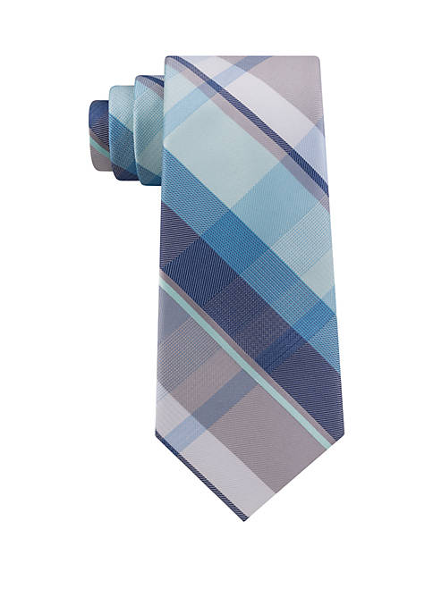 Dry Plaid Tie