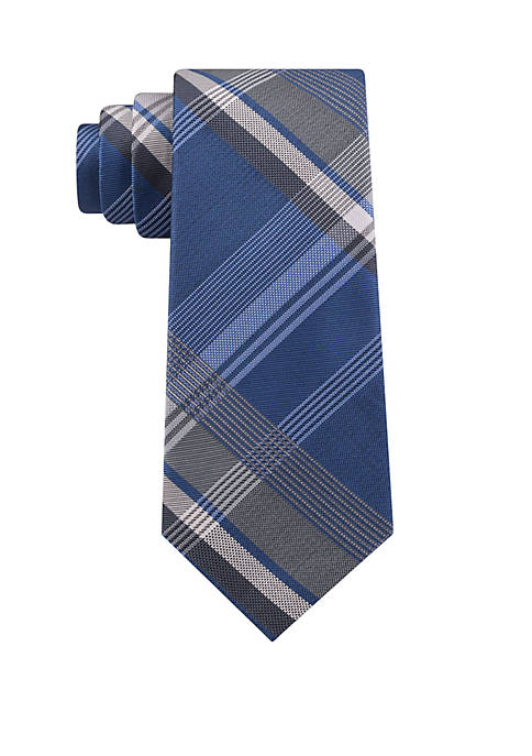 Madison Large Plaid Tie