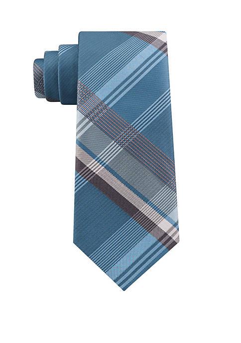 Madison Large Plaid Tie