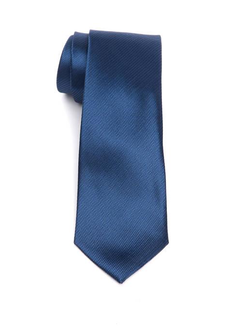 Madison Block Twill Texture Tie