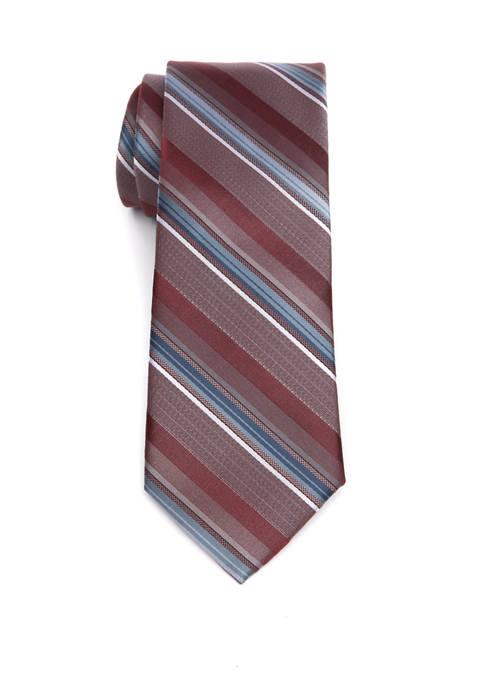 Madison Textured Layer Stripe Tie