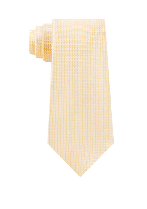 Madison Mens Cubic Solid Tie