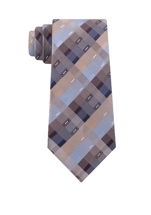 Madison Parkway Geometric Print Tie