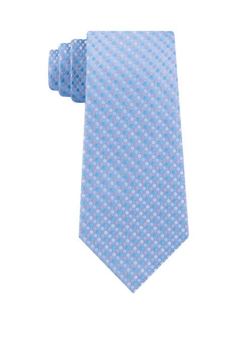 Mens Multi Dot Print Tie
