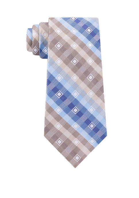 Madison Lunar Square Print Tie