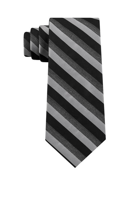 Madison Mens Heather Stripe Tie