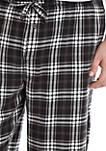 Big & Tall Plaid Flannel Pants