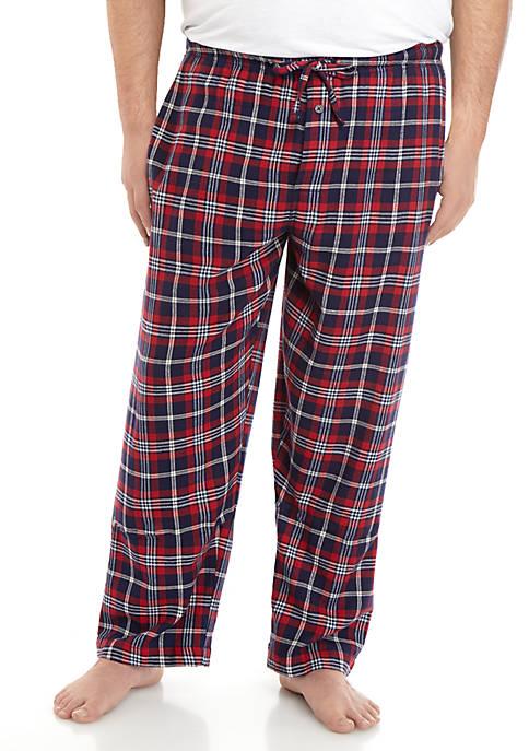 Big & Tall Flannel Pants