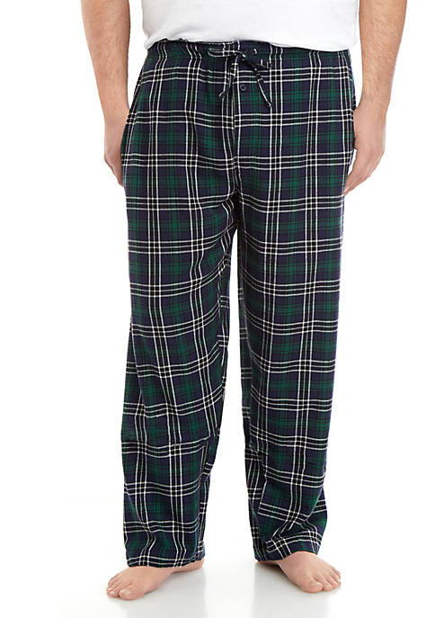 Saddlebred® Big & Tall Flannel Pants