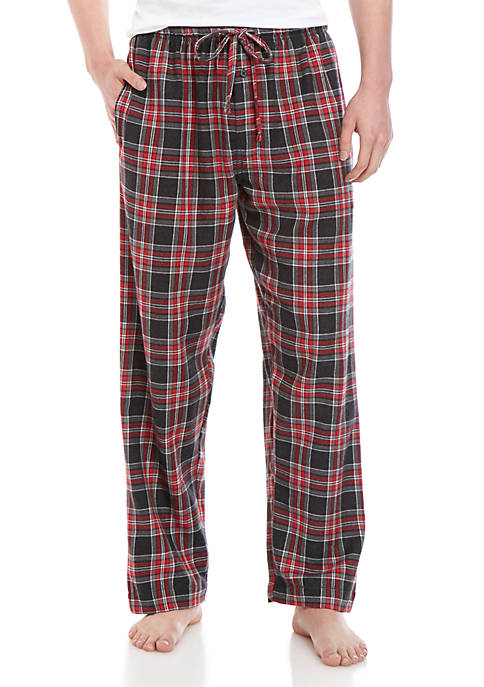 Saddlebred® Big & Tall Heather Flannel Pants