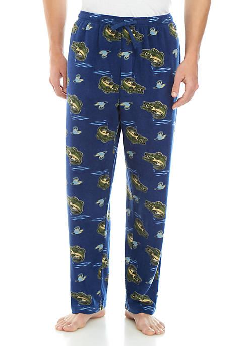 Saddlebred® Bass Fleece Sleep Pants