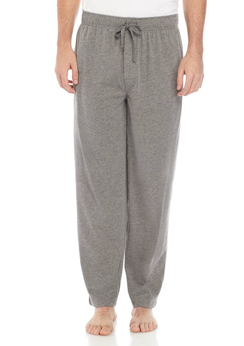 Solid Grey Heather Knit Pants