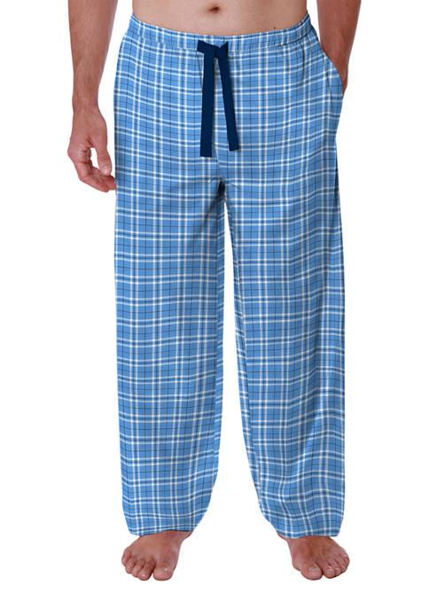 Saddlebred® Big & Tall Printed Jersey Pajama Pants