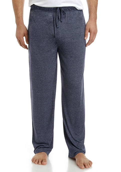 Solid Blue Heather Sleep Pants