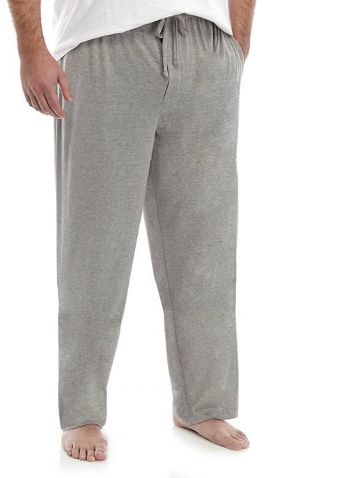 Saddlebred® Big & Tall Heather Hacci Knit Pants