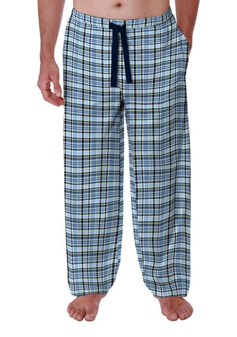 Windowpane Plaid Pajama Pants