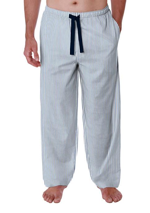 Striped Knit Pajama Pants