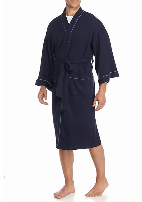 Nailhead Kimono Robe