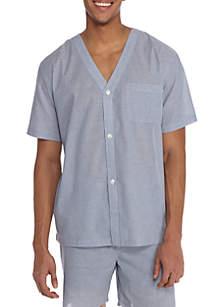 Saddlebred® Short Sleeve Stripe Pajama