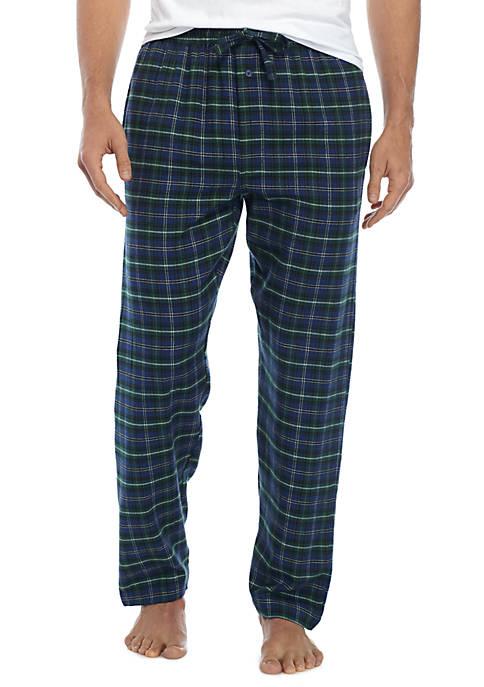 Flannel Plaid Sleep Pants