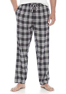 Yarn Dyed Plaid Flannel PJ Pants