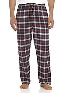 Plaid Flannel Sleep Pants