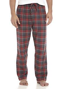 Heather Flannel Sleep Pants