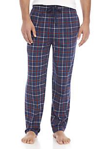 Plaid Knit Pants
