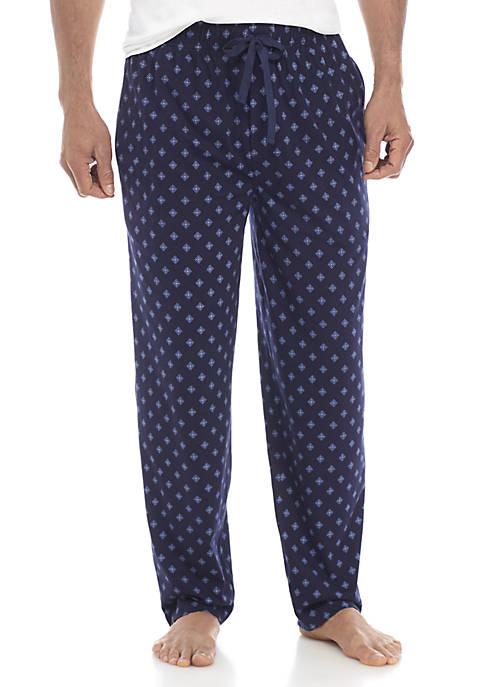 Big & Tall Medallion Print Sleep Pants